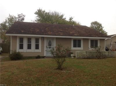 Portsmouth Single Family Home New Listing: 3809 Fruitwood Ct