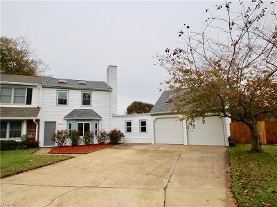 Virginia Beach Single Family Home New Listing: 723 Goose Creek Ct