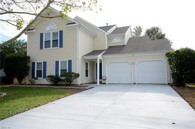 Virginia Beach VA Single Family Home New Listing: $339,900