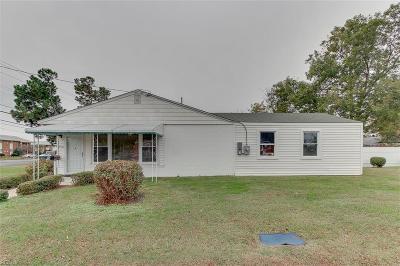 Norfolk Single Family Home New Listing: 2536 E Little Creek Rd