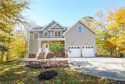 Newport News Single Family Home New Listing: 101 View Pointe Dr