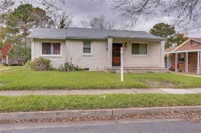Norfolk Single Family Home New Listing: 1018 Willingham St