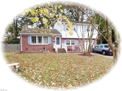 Newport News Single Family Home New Listing: 25 Fauquier Pl