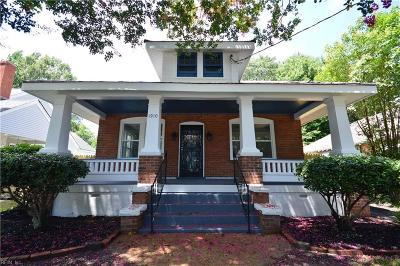 Portsmouth Single Family Home New Listing: 1910 Parker Ave
