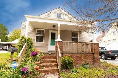 Portsmouth Single Family Home New Listing: 4411 Columbia St