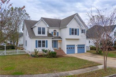 Virginia Beach Single Family Home New Listing: 4224 Feather Ridge Dr