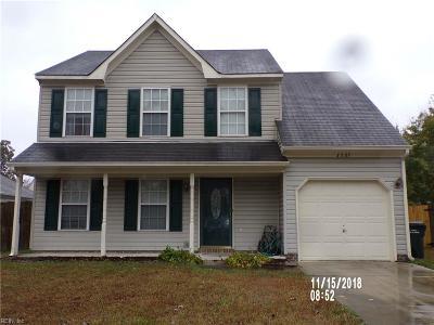 Suffolk Single Family Home New Listing: 3507 Blaze Ct