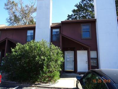 Virginia Beach Single Family Home New Listing: 2120 Pier Point Ln