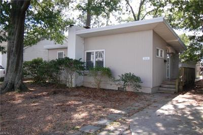 Virginia Beach Single Family Home New Listing: 516 22nd St #A
