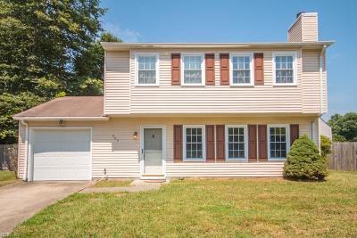 Hampton Single Family Home New Listing: 302 Markos Ct