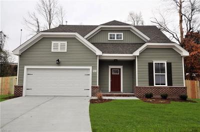 Chesapeake Single Family Home New Listing: Mm Cedar 2 F