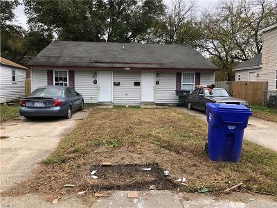 Norfolk Multi Family Home For Sale: 1517 Manson St