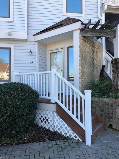 Chesapeake Single Family Home New Listing: 125 Harbor Dr