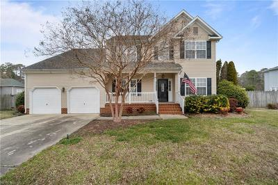 Hampton Single Family Home For Sale: 12 Ashe Meadows Dr