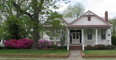 Hampton Single Family Home New Listing: 260 Newport News Ave