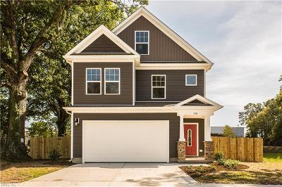 Chesapeake VA Single Family Home New Listing: $344,900