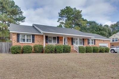 Virginia Beach Single Family Home New Listing: 3140 Sand Pine Rd