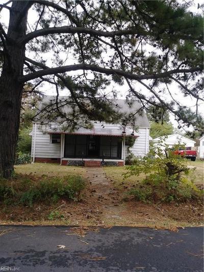 Hampton Single Family Home New Listing: 608 Kentucky Ave