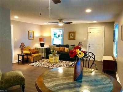 Portsmouth Single Family Home New Listing: 3213 Elliott Ave