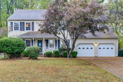 Newport News Single Family Home New Listing: 330 Williamsburg Ct