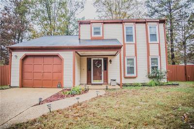Newport News Single Family Home New Listing: 524 Heacox Ln