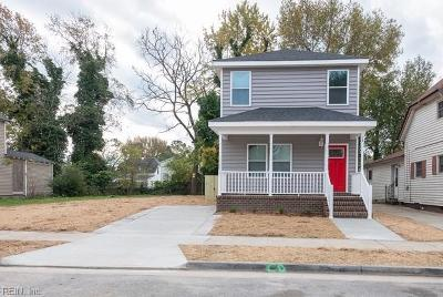 Portsmouth Single Family Home New Listing: 58 Webster Ave Ave