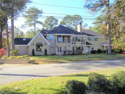 Virginia Beach Single Family Home New Listing: 4137 Hermitage Point Rd
