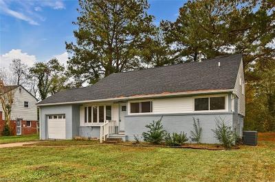 Norfolk Single Family Home New Listing: 437 Pepper Mill Ln