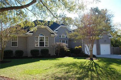 Virginia Beach VA Single Family Home New Listing: $624,900