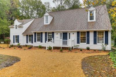 Newport News Single Family Home Under Contract: 118 Sandpiper St