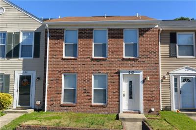 Virginia Beach Single Family Home New Listing: 612 Hustings Court Ln