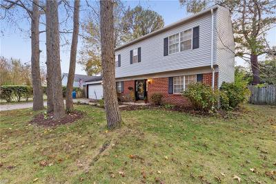 Virginia Beach Single Family Home New Listing: 5313 Cannan Valley Ave