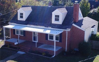 Norfolk Single Family Home New Listing: 123 Conway Ave