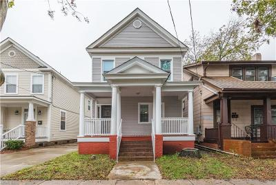 Norfolk Single Family Home New Listing: 737 W 28th St
