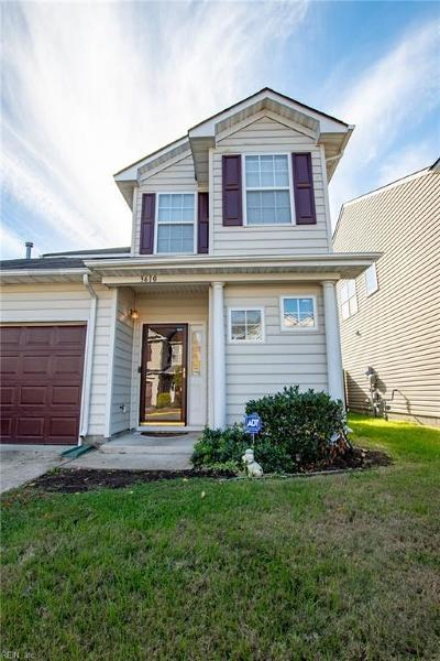 Chesapeake VA Single Family Home New Listing: $209,000