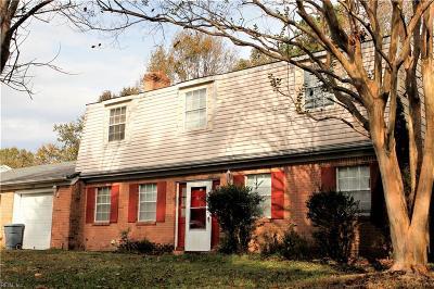 Virginia Beach VA Single Family Home New Listing: $230,500
