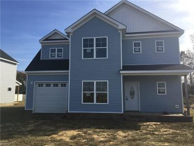 Suffolk Single Family Home New Listing: 6651 Everets Rd
