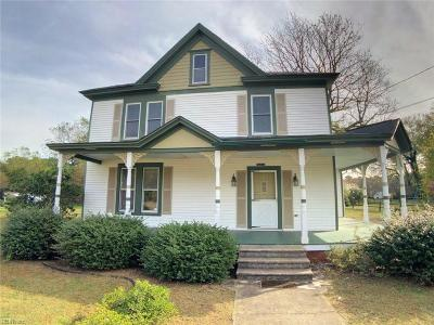 Accomack County Single Family Home For Sale: 36133 Belle Haven Rd
