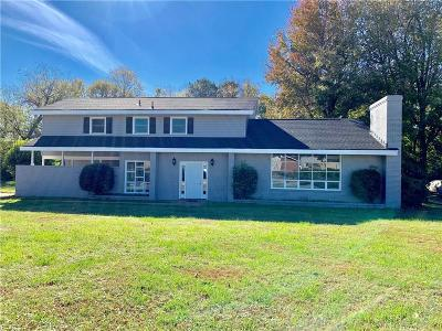 Hampton Single Family Home New Listing: 405 Thom Hall Dr