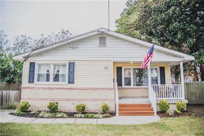 Norfolk Single Family Home New Listing: 3247 Vimy Ridge Ave