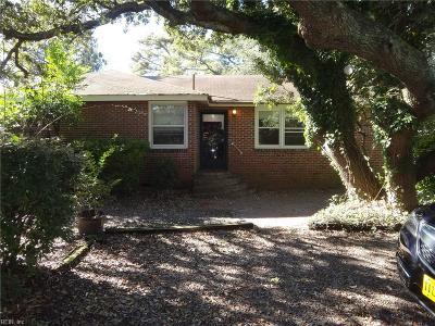 Virginia Beach VA Single Family Home New Listing: $425,000