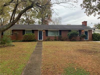 Virginia Beach VA Single Family Home New Listing: $245,900