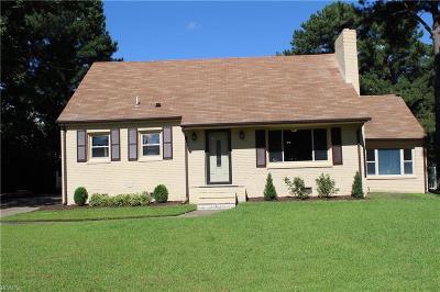 Norfolk VA Single Family Home New Listing: $270,000