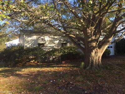 Virginia Beach VA Single Family Home New Listing: $179,000