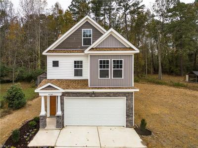 Suffolk Single Family Home New Listing: 4158 Pughsville Rd