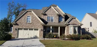 Virginia Beach Single Family Home New Listing: 3905 Border Way