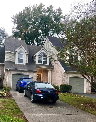 Chesapeake Single Family Home Under Contract: 905 Shoal Creek Trl