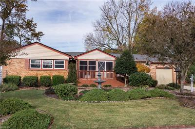 Virginia Beach Single Family Home New Listing: 3600 S Gladstone Arch