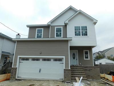 Chesapeake Single Family Home New Listing: 716 Luther St #B