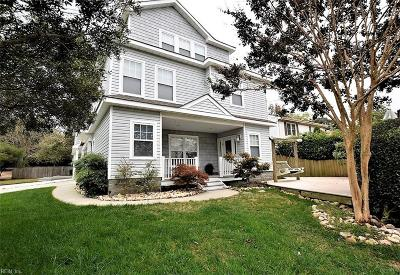 Virginia Beach Single Family Home For Sale: 396 58th St